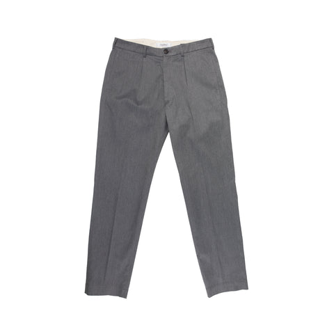 Pleated Chino - Charcoal
