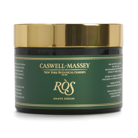Caswell-Massey Shaving Cream- NYBG Ros