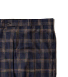 Rivington Trouser - Navy Plaid