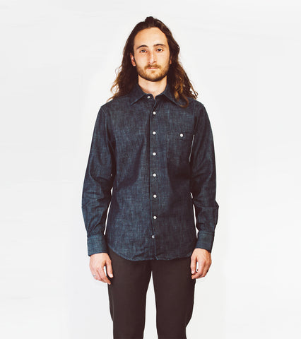 Hopkins Shirt - Selvedge Denim