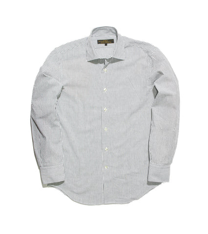 Oxford Shirt - Grey Stripe
