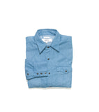Western Shirt- Light Blue