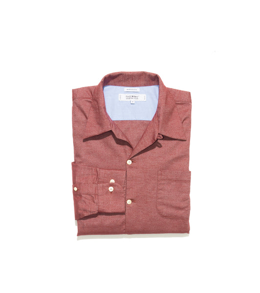 Camp Collar Shirt - Red Flannel