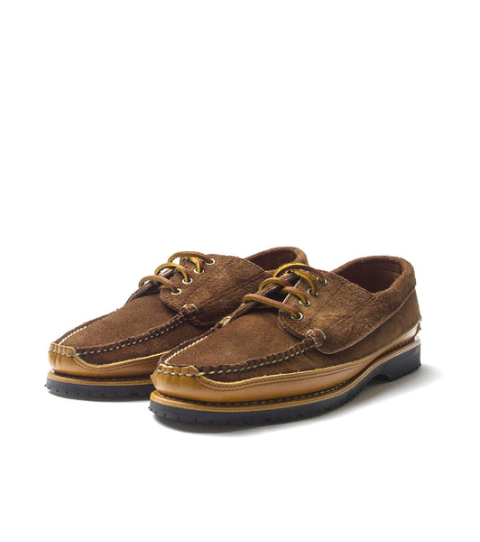 Rancourt Ranger Mock- Brown Suede
