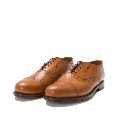 FSC x RANCOURT- BARTLETT OXFORD AMBER CALF
