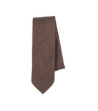 Unstructured Necktie - Gold Slub