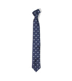 Unstructured Tie- Navy Floral