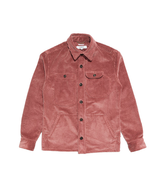 Camp Shirt- Pink Corduroy