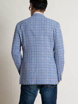 Freemans Travel Sport Coat - Blue Plaid
