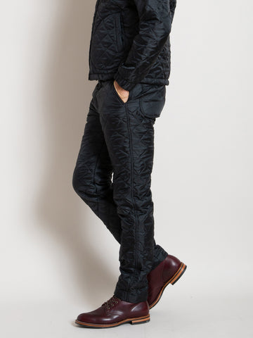 Barstow Pant - Black Quilted