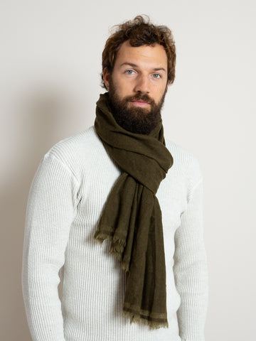 From the Road Yana Scarf- Army Green