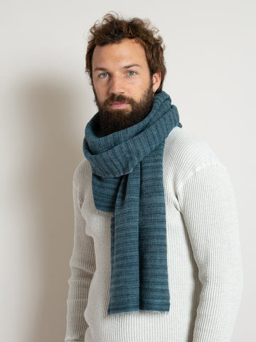 From the Road Rakta Scarf- Blue