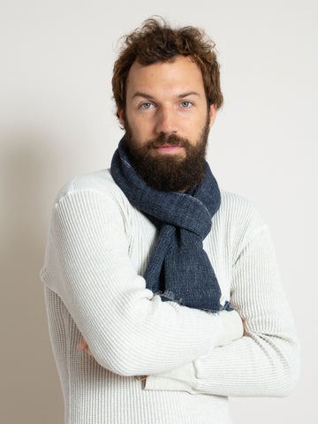 From the Road Rakta Scarf- Navy