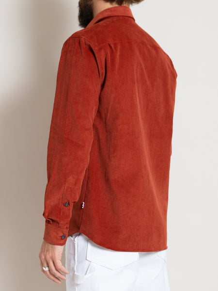 CS-1 Shirt- Rust Cord