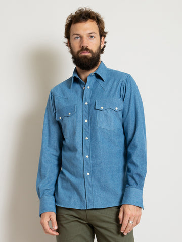 Western Shirt- Denim