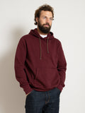 Hooded Sweatshirt - Burgundy
