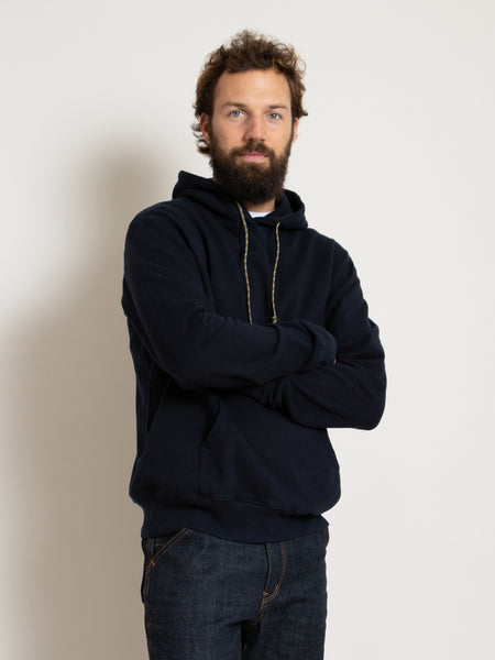 Hooded Sweatshirt - Dark Navy