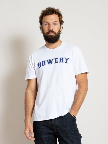 Printed T-Shirt - Bowery White