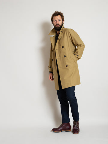 Mission Overcoat- Tan