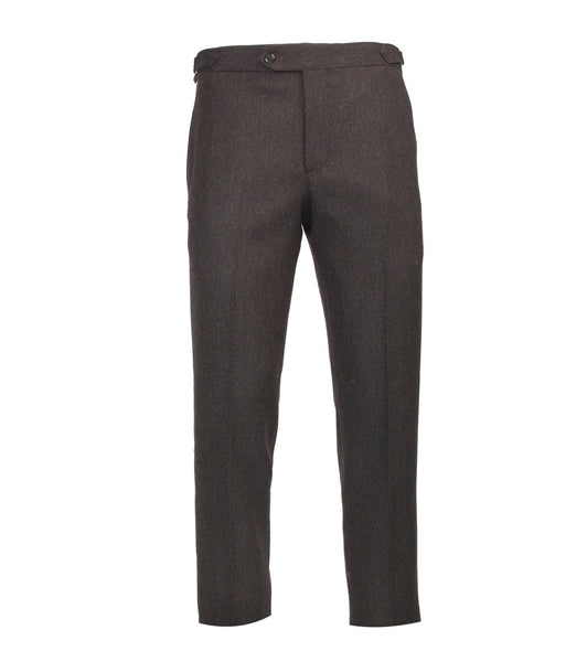 Connery Trouser - Brown Donegal