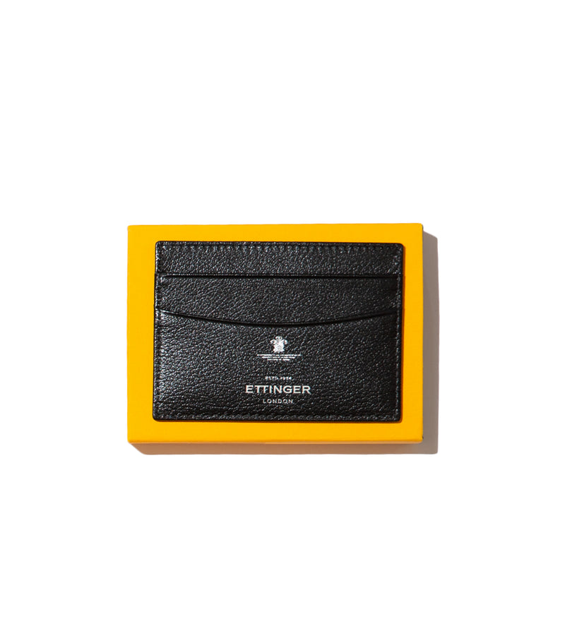 Ettinger- Capra Black Card Holder
