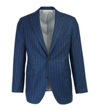 The Freeman Suit - Flannel Chalkstripe