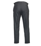Connery Trouser - Charcoal Flannel