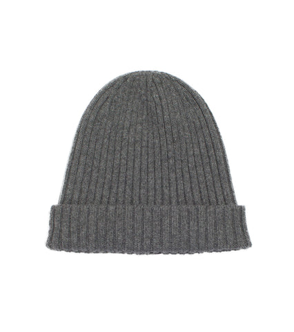 Merino Watch Cap - Charcoal