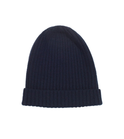 Merino Watch Cap - Navy