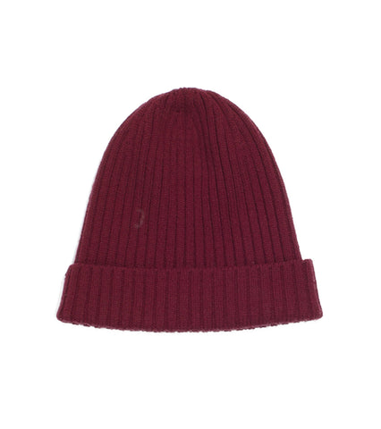 Merino Watch Cap - Oxblood