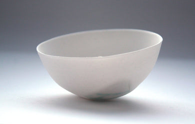Decorative stoneware English fine bone china small bowl with a unique texture.