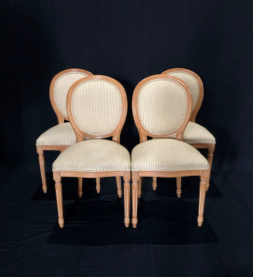 Set of Four Louis XVI Style Chairs