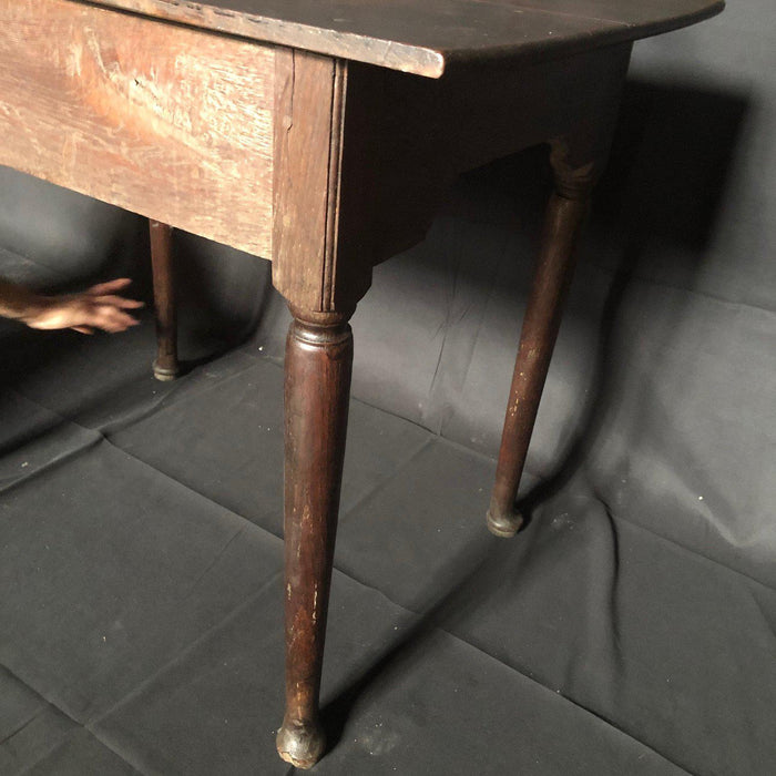 Super Early Oak Side Table or Nightstand
