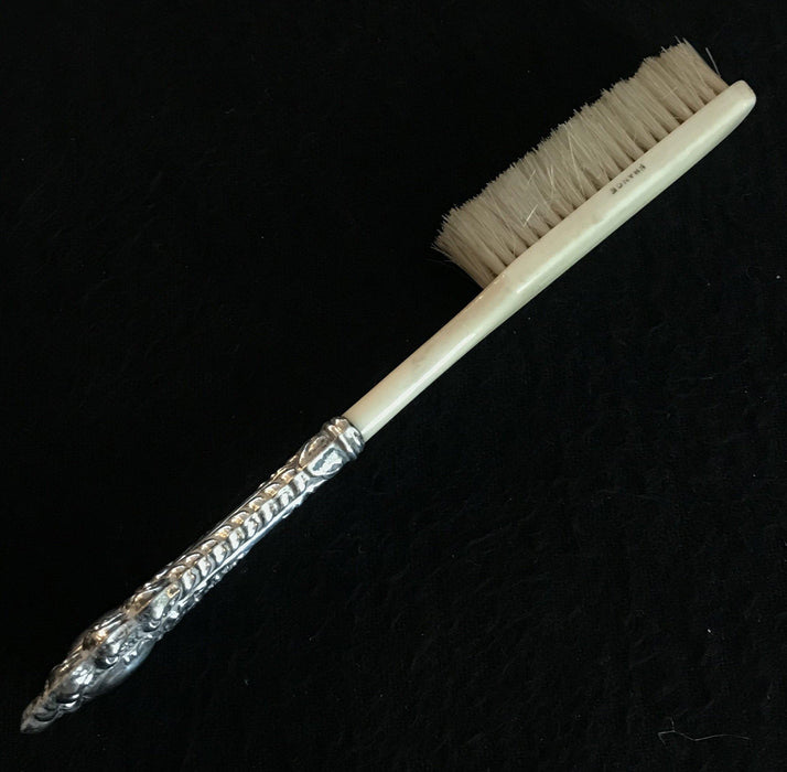 To sell: French Victorian-Era Bone/Silver Brush
