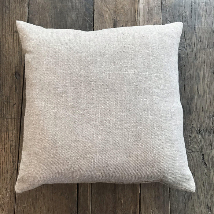 Pair French Linen Pillows (New) for sale