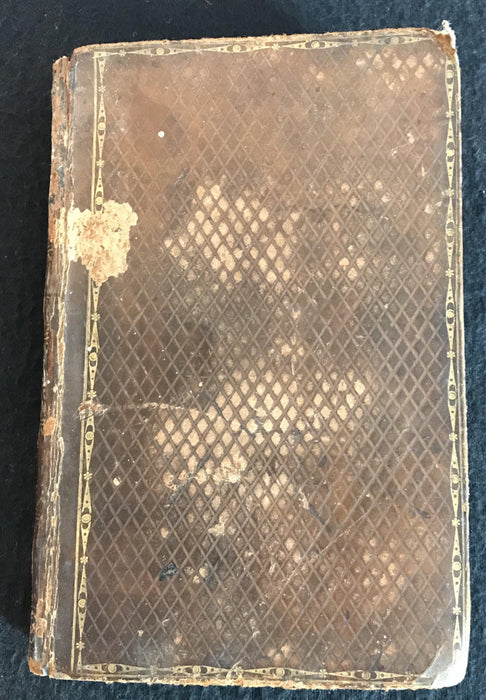 Antique leather book for sale British