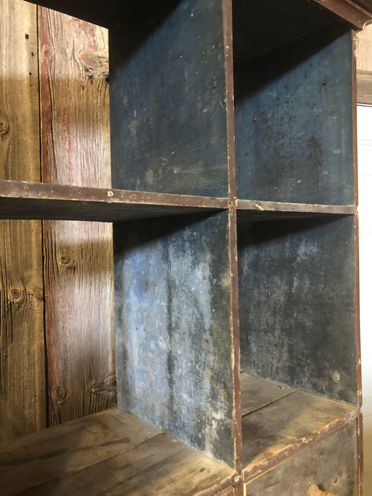 French Large 24 Drawer Antique Cupboard / Cabinet from France