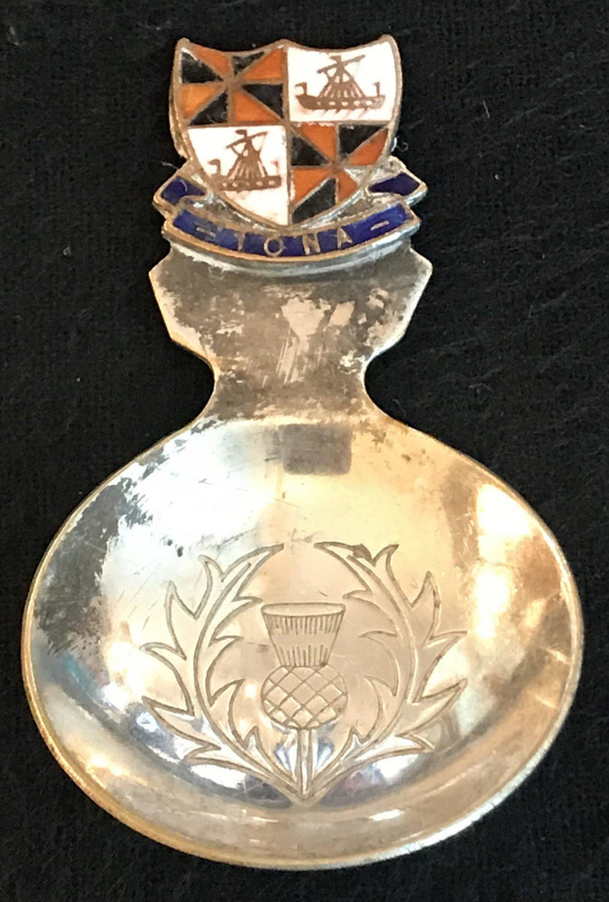 British Iona Crest Spoon for sale