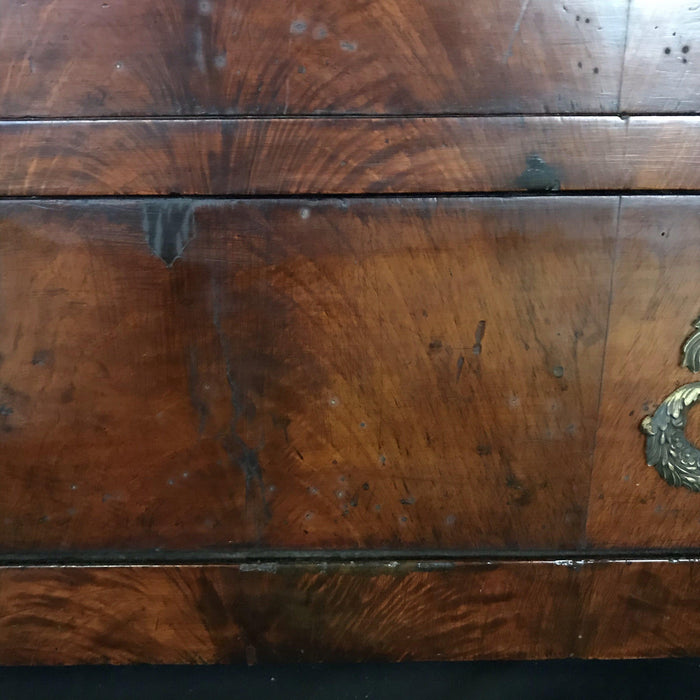 Period Antique French Empire Commode Chest of Drawers with Beautiful Marble Top