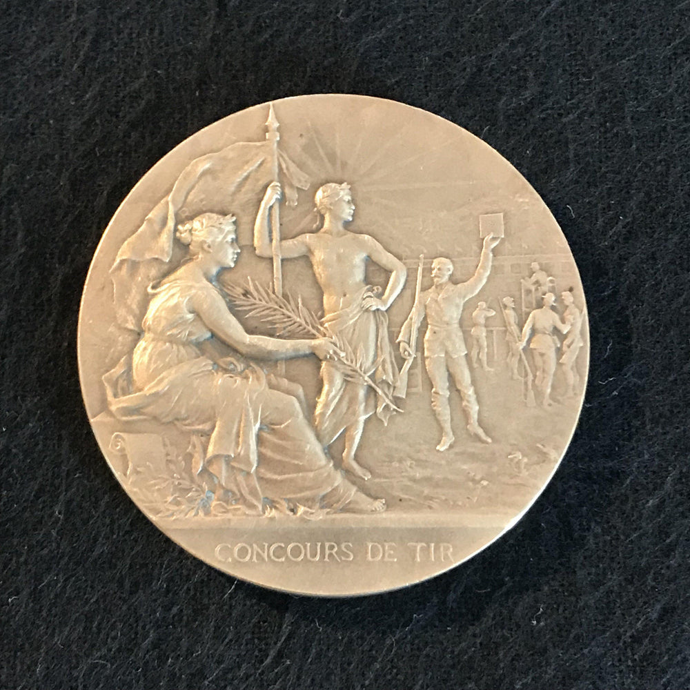 french medal concours de tir for sale
