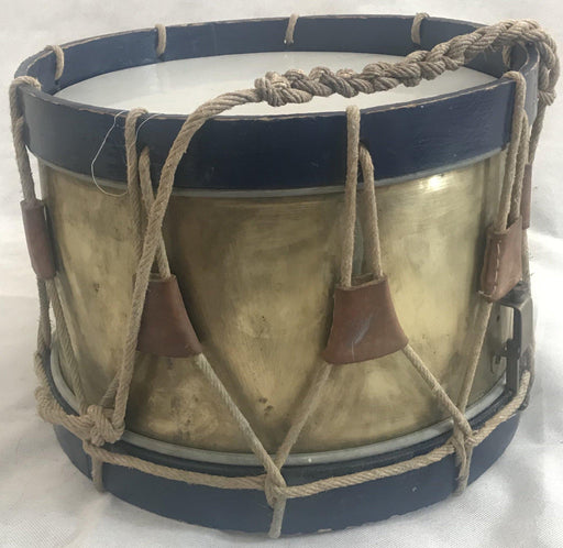 English brass drum from the 1940s for sale