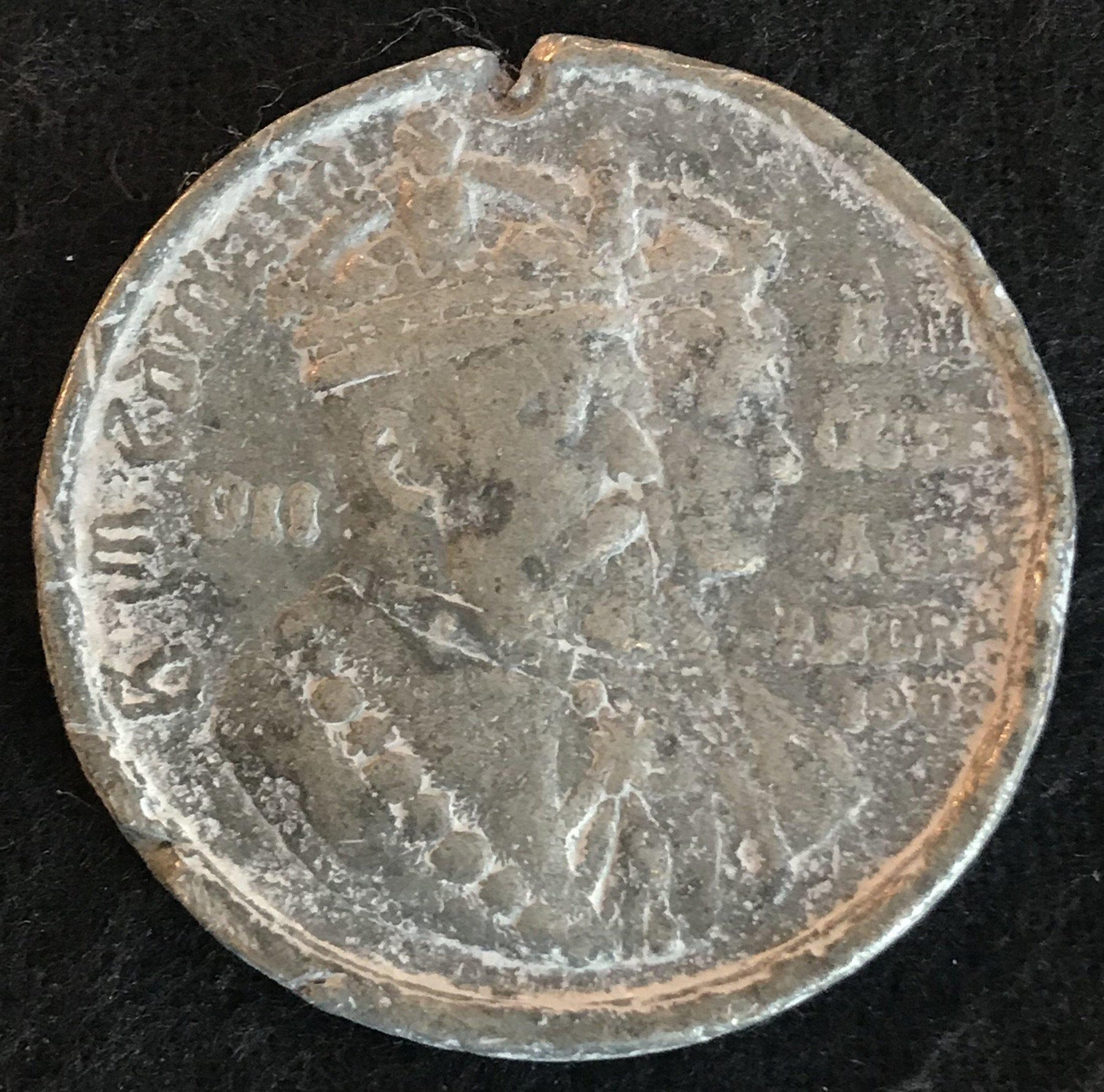 1902 British Coin: Coronation of King Edward II and Queen Alexandra for sale antique