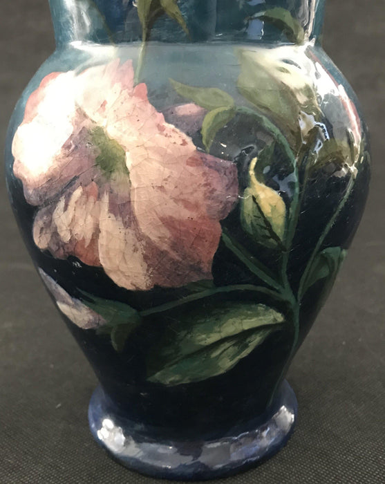 Rare Artist Hand Painted French Floral Antique Vase to buy