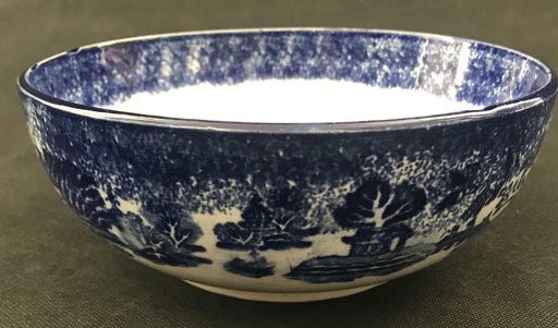 Early British Blue and White Bowl for sale