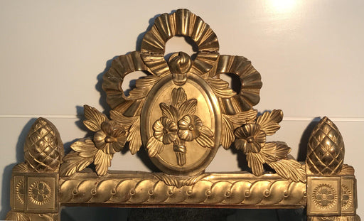 For sale: 18th Century French Ornate Gold Gilt Mirror