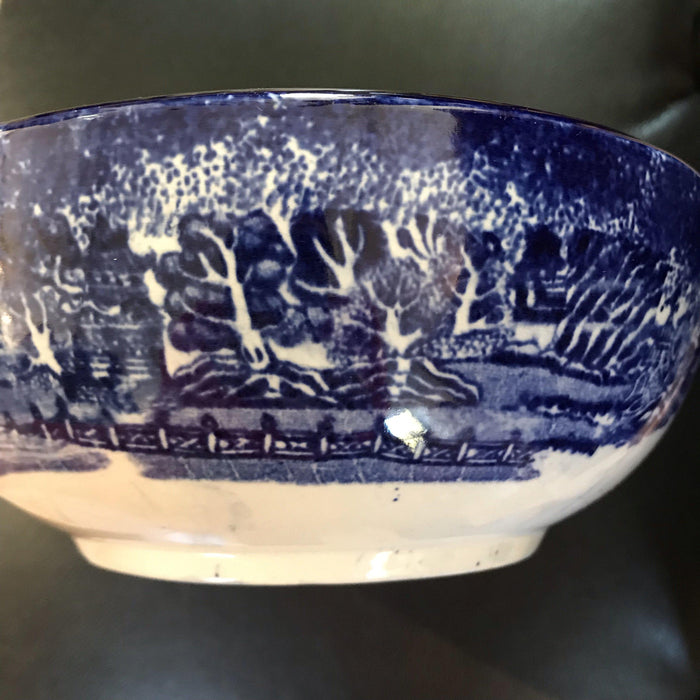 For sale: Early British Blue and White Bowl