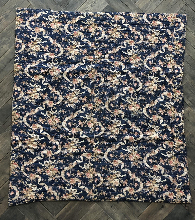 Buy this Blue French Floral Quilt