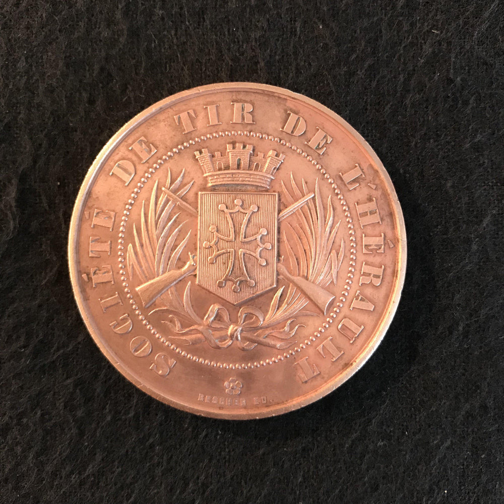 french medal societe de tir de l'herault for sale