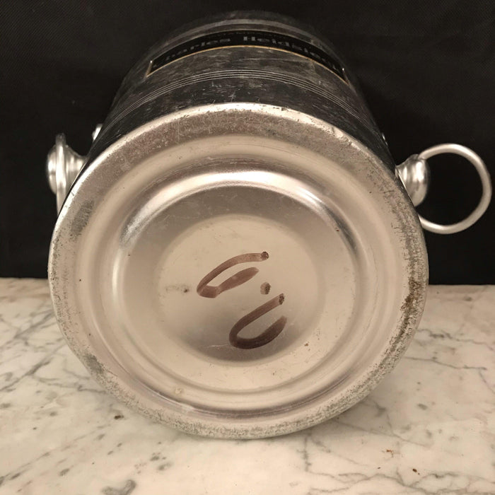 French Vintage Charles Heidsieck Champagne or Ice Bucket Cooler