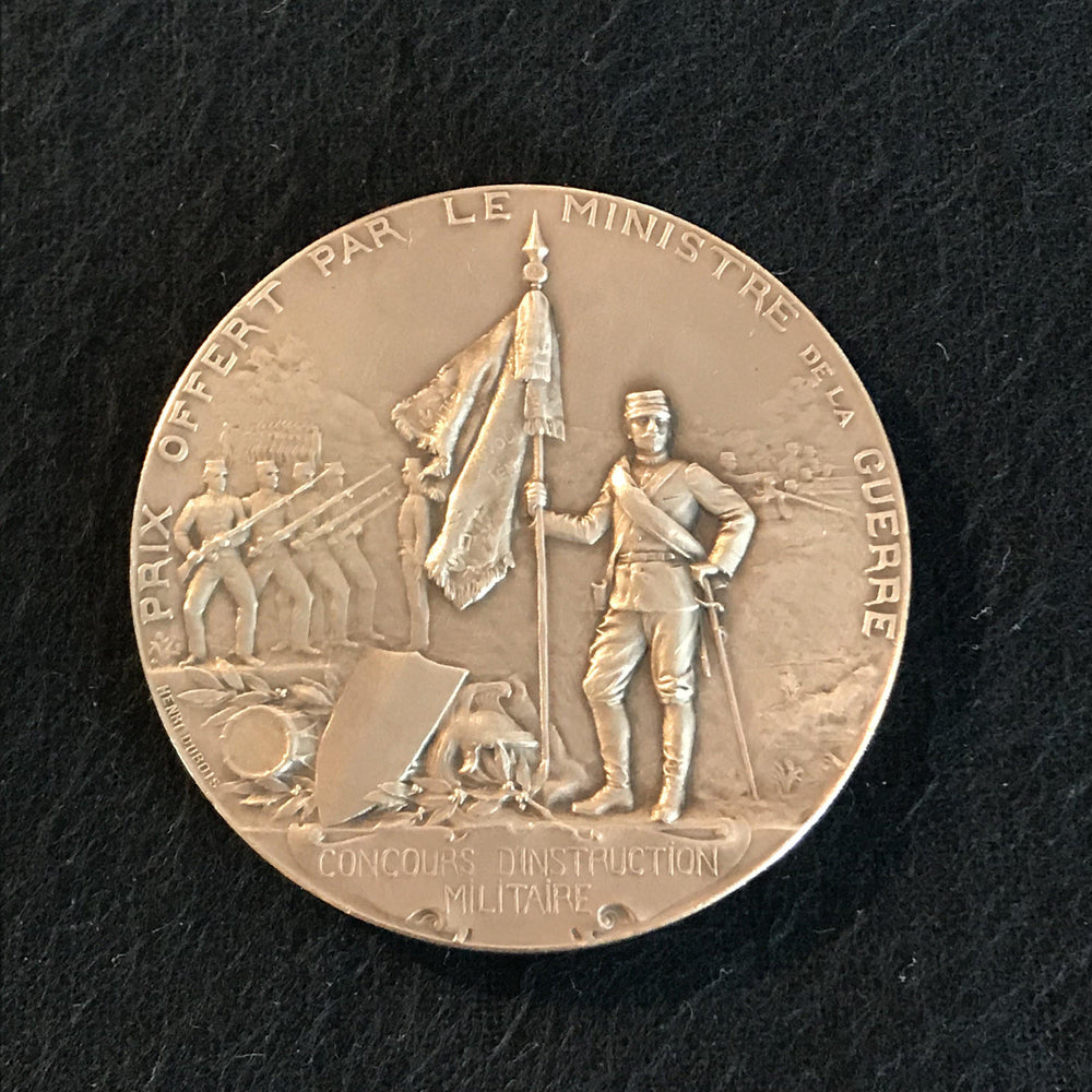 french medal concours d'instruction militaire for sale
